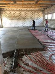 Устройство цементно- бетонной стяжки в Могилеве